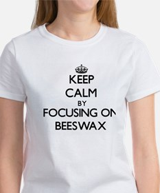 Keep Calm by focusing on Beeswax T-Shirt