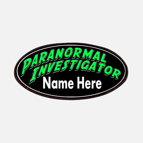 Paranormal Investigator Patches
