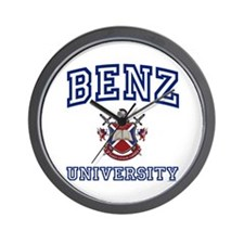 BENZ University Wall Clock