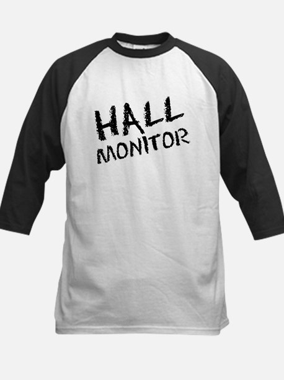 Hall Monitor Funny School Kids Baseball Jersey