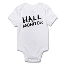 Hall Monitor Funny School Infant Bodysuit