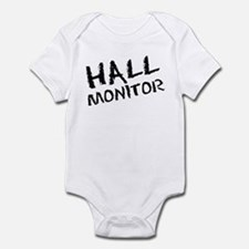 Hall Monitor Funny School Infant Bodysuit