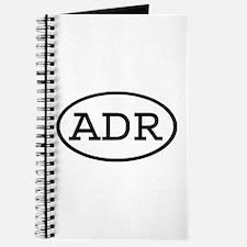 ADR Oval Journal