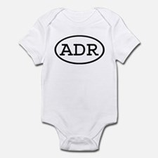 ADR Oval Infant Bodysuit