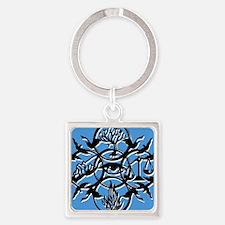 Divergent Faction Art Blue Keychains