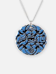 Divergent Faction Art Blue Necklace