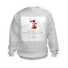 Gluten Allergy Dragon Sweatshirt