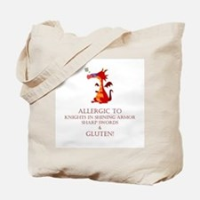 Gluten Allergy Dragon Tote Bag