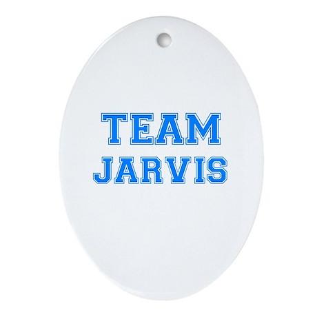 TEAM JARVIS Oval Ornament