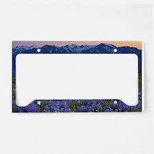 Mountain Lavender License Plate Holder