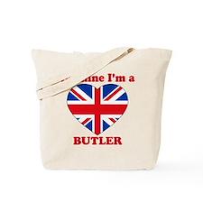 Butler, Valentine's Day Tote Bag