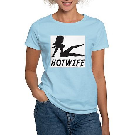 Hotwife Mudflap Girl Women's Pink T-Shirt