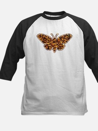 Bamboo Borer Moth Life Cycle Silhouette Baseball J