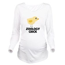 Zoology Chick Long Sleeve Maternity T-Shirt