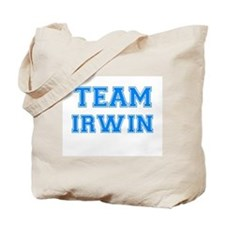 TEAM IRWIN Tote Bag