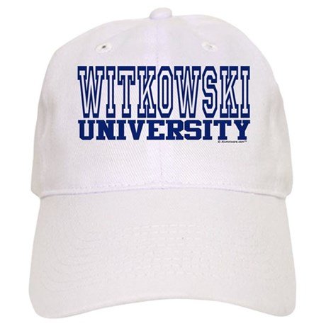 WITKOWSKI University Cap