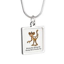 Monkey See monkey Do Necklaces