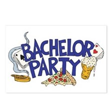 Bachelor Party Invitation Postcards (8)