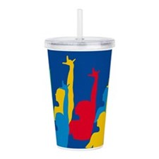 Synchronized Swimming Acrylic Double-wall Tumbler