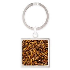 Deep Fried Bamboo Worms Keychains