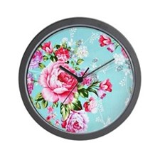 Unique Red roses Wall Clock