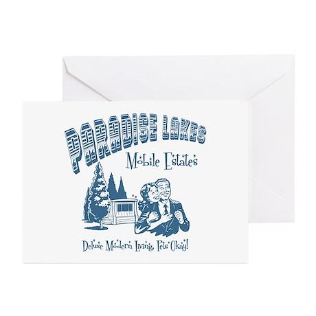 Paradise Lakes Greeting Cards (Pk of 10)
