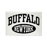 Buffalo New York Rectangle Magnet