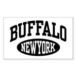 Buffalo New York Rectangle Sticker