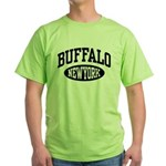 Buffalo New York Green T-Shirt