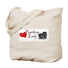 Fawkesy Lady/Guy Fawkes Tote Bag