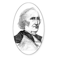 Wendell Phillips Oval Decal