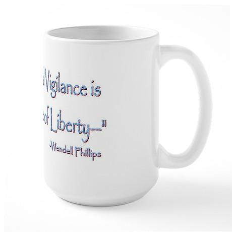Wendell Phillips Large Mug