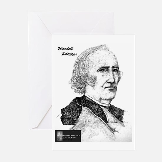 Wendell Phillips Greeting Cards (Pk of 10)