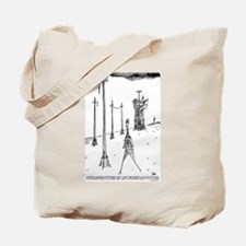 """Infrastructure of an Uncertain Future"" Tote Bag"