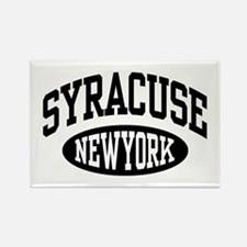 Syracuse New York Rectangle Magnet
