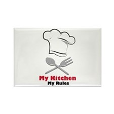 My Kitchen My Rules Magnets