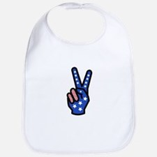 Peace Sign Bib