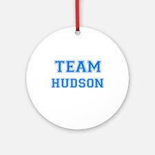 TEAM HUDSON Ornament (Round)