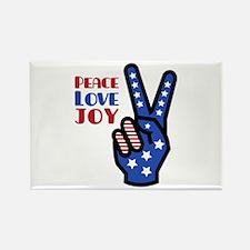 Peace Love Joy Magnets