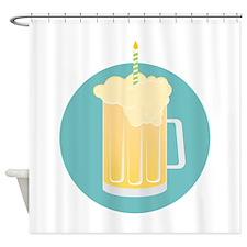 Birthday Beer Shower Curtain
