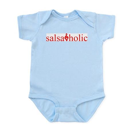 Salsaholic Infant Bodysuit