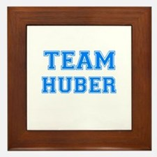 TEAM HUBER Framed Tile