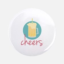 "Cheers 3.5"" Button (100 pack)"