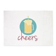 Cheers 5'x7'Area Rug