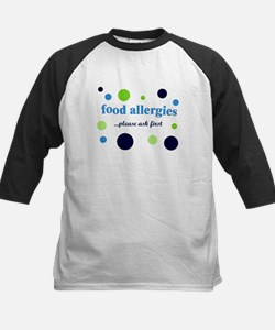 Food Allergies Kids Baseball Jersey