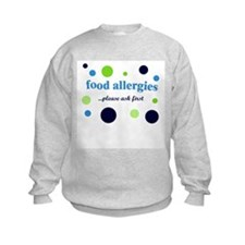 Food Allergies Sweatshirt