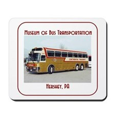 Golden Eagle Trailways Bus Mousepad