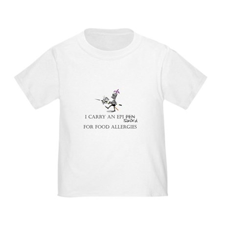 Epi Pen Knight Toddler T-Shirt