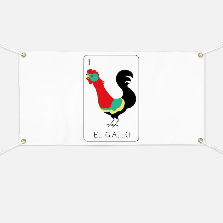El Gallo Banner
