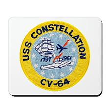 USS CONSTELLATION Mousepad